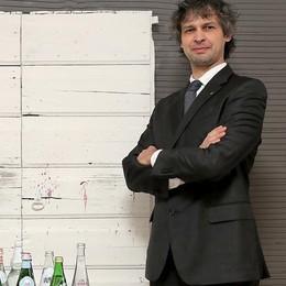Fabio, degustatore di acque È l'unico «idrosommelier» bergamasco