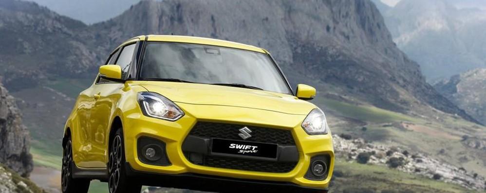 Suzuki Swift Sport  accelera sulla sportività