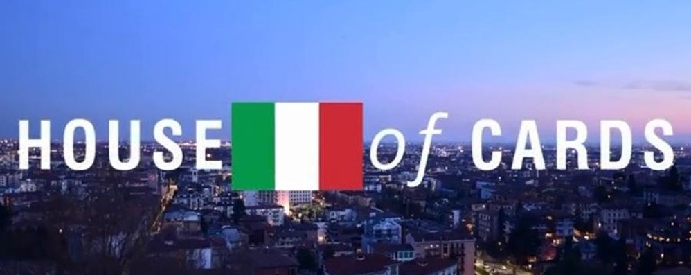 Bergamo come Washington - Video Il remake della sigla di House of Cards