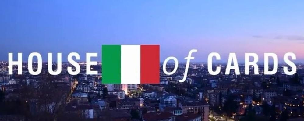 Bergamo come Washington - Video Il remake della sigla di House of Cards
