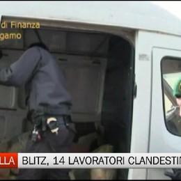 Fontanella: scoperto dalla Gdf capannone con lavoratori in nero e clandestini