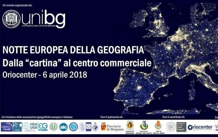 Notte europea della geografia Dall'Università al centro commerciale