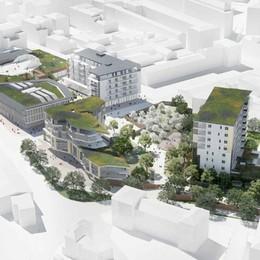 Residenze per anziani all'Ex Cesalpinia Ecco come saranno le torri da nove piani