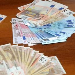 Non dichiara 34mila euro in dogana Orio, «multa» di 3mila e 500 euro