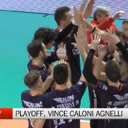 Pallavolo, Caloni Agnelli Bergamo-Brescia 3-0