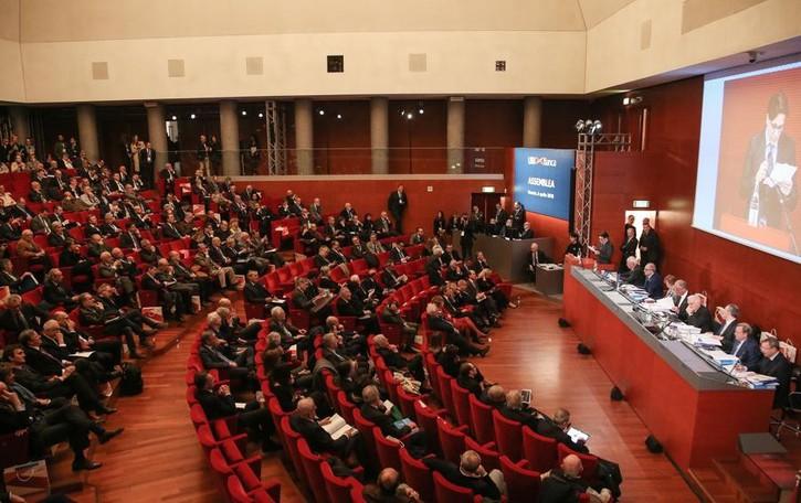 Assemblea degli azionisti Ubi a Brescia Approvato dividendo  di 0,11 euro