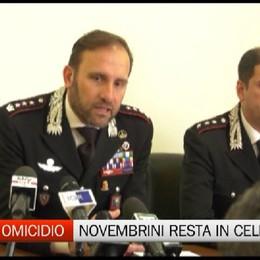 Duplice omicidio di Caravaggio, Novembrini resta in carcere