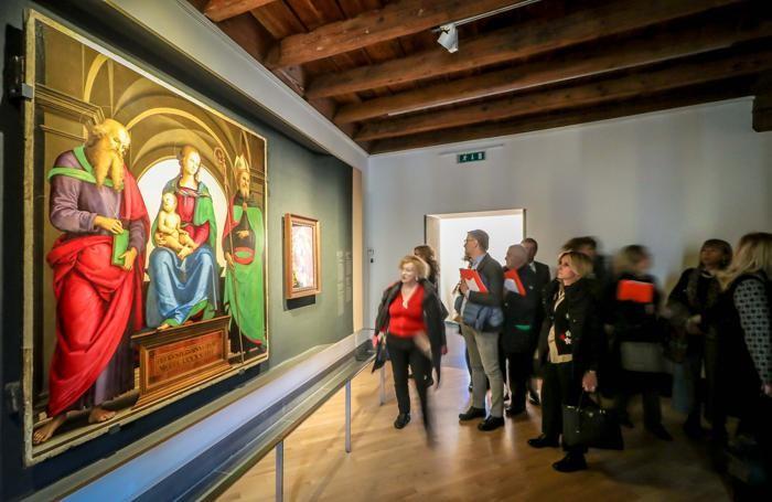 Accademia Carrara - mostra «Raffaello e l'eco del mito»