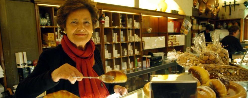 Addio alla signora della «Marianna» Città Alta, morta Oriana Fabbri Panattoni