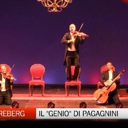 La follia del genio di «PaGAGnini» Tra musica, virtuosismo e ironia.