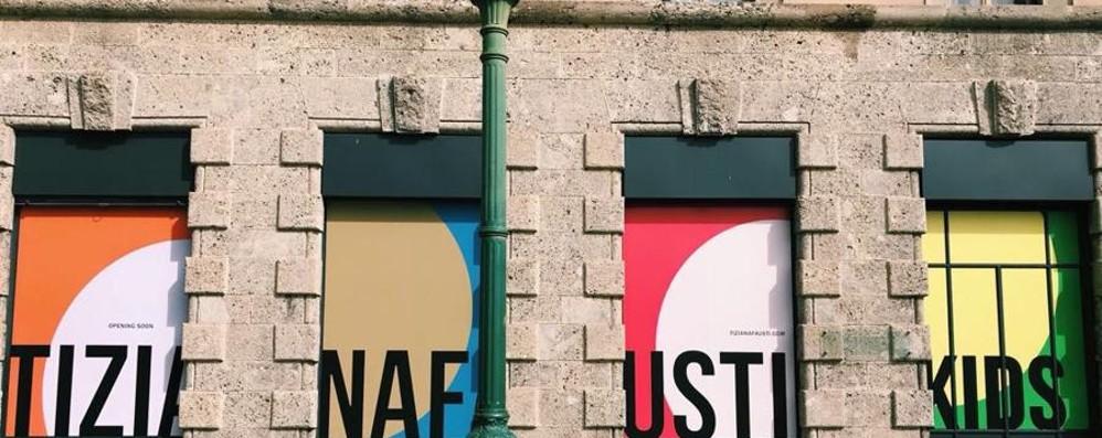 Nuovo investimento per Tiziana Fausti Sabato inaugura il negozio bambino