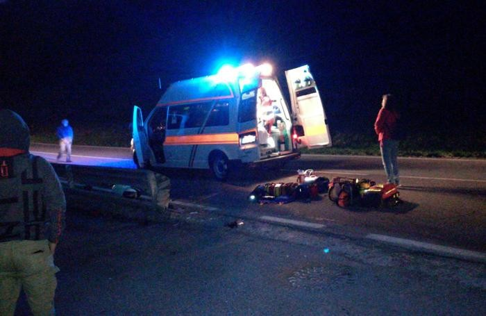 Diciottenne gravemente ferita in incidente motociclistico a Sovere foto