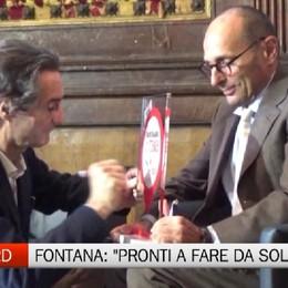 Attilio Fontana, Se Fs non investe su Trenord, pronti a fare da soli