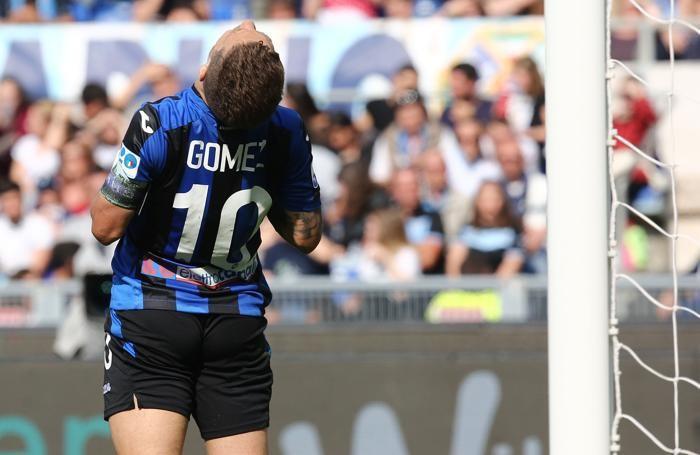 Serie A TIM 2017-18 giornata 36 lazio - atalanta gomez alejandro