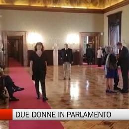 La vita di due donne in Parlamento   Guide «speciali» dentro Camera e Senato