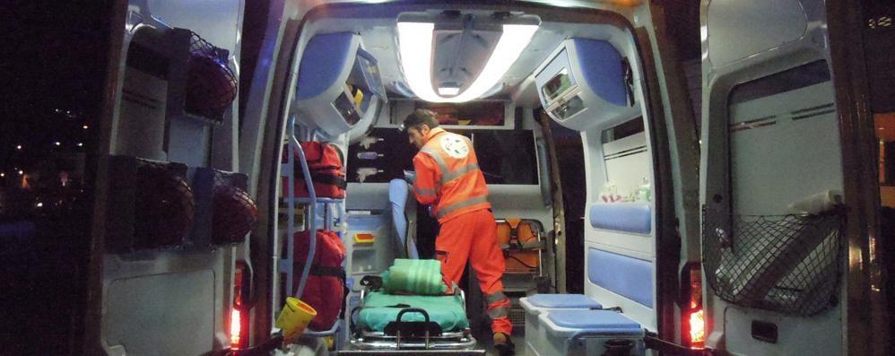Maxi incidente in autostrada nella notte Coinvolte 5 auto, 10 feriti, due gravi