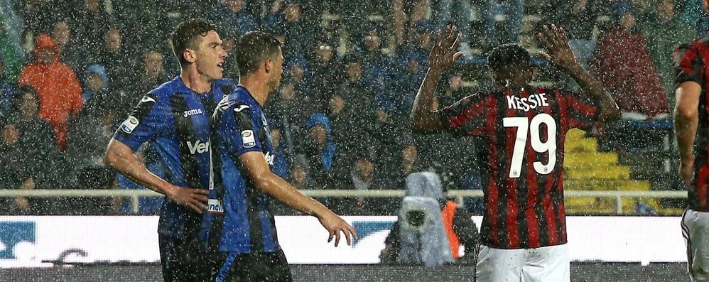 Atalanta di cuore  contro il Milan, è pari Il gol di Masiello al 91' fa impazzire i tifosi
