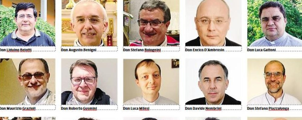 Cambiano i sacerdoti in 13 parrocchie Ecco chi sono e gli incarichi ricoperti