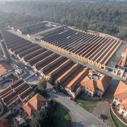 Crespi, il progetto fa volare il sito Unesco Isola e Valle S. Martino, speciale su L'Eco