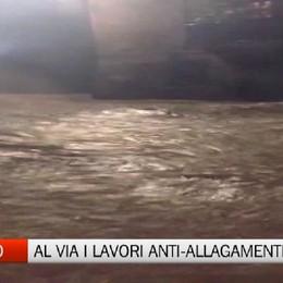 Astino - Partiti i lavori anti-allagamenti