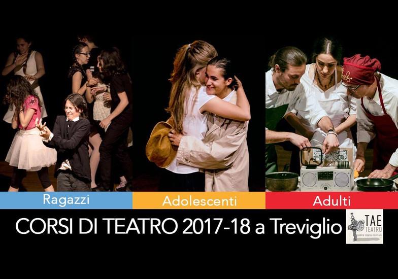 CORSI DI TEATRO A TREVIGLIO 2017-2018