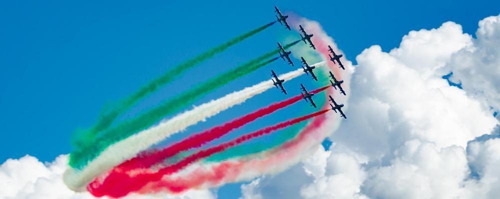 Le Frecce tricolori nei cieli lombardi   A settembre torneranno anche a Lovere