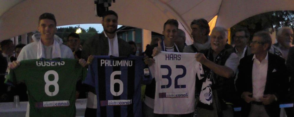 Gosens, Palomino e Haas a Terno Entusiasmo per il nuovo Club  Amici