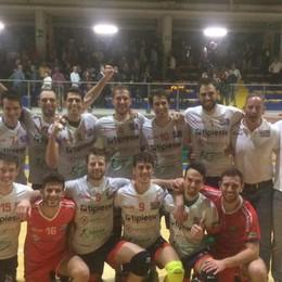 Storica vittoria per il Cisano Il volley maschile in Serie A2