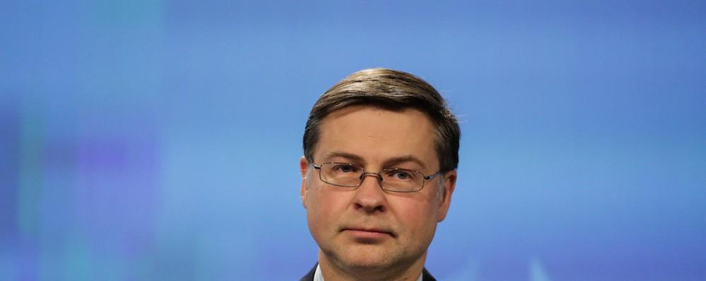 Dombrovskis, a Italia chiediamo ancora rispetto impegni Ue