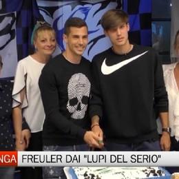 Freuler premiato dal Club Amici Atalanta Lupi del Serio