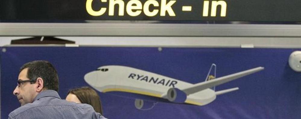 Ryanair taglia il tempo per il check-in Solo 48 ore, ma se si paga fino a 60 giorni