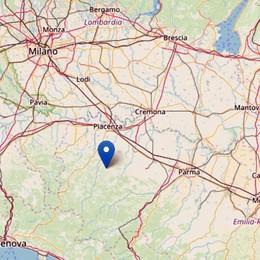 Piacenza, terremoto di magnitudo 4.3 La scossa avvertita anche a Bergamo