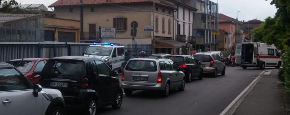 Bergamo, strisce pedonali pericolose Ancora grave incidente in via Corridoni