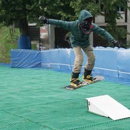 La neve? La trovi a Bergamo Al Polaresco sci e snowboard