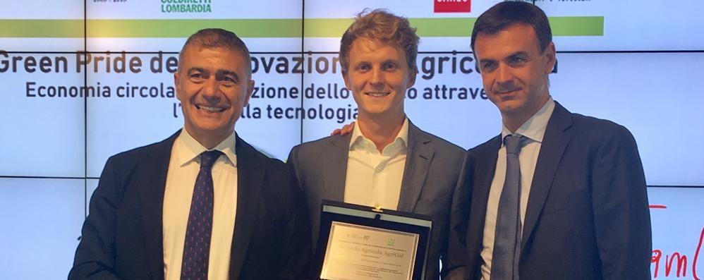 «Salotto enogastronomico virtuale» Premiato 28enne agricoltore orobico
