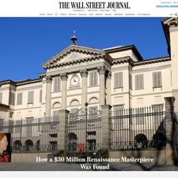 Il dipinto ritrovato è di Mantegna La Carrara finisce sul Wall Street Journal