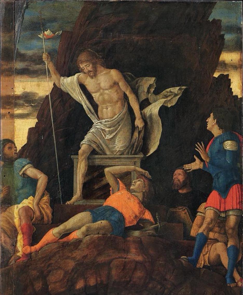 La Resurrezione di Cristo di Andrea Mantegna