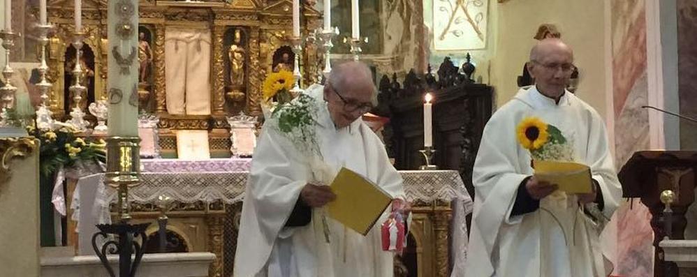 Valgoglio, gemelli e sacerdoti da 65 anni «Un grande dono tra fede e arte»