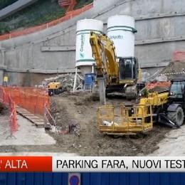 Città Alta, microcariche esplosive al parking della Fara