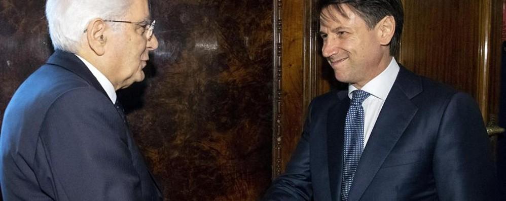 Conte nuovo presidente del Consiglio Incarico da Mattarella di formare il governo