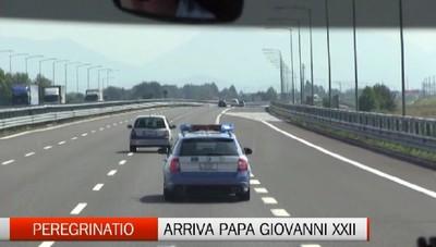 Cresce l'attesa per l'arrivo a Bergamo la salma di Papa Giovanni XXIII