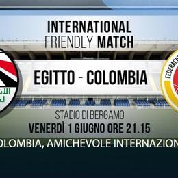 Mondiali 2018: si giocherà a Bergamo l'amichevole Egitto-Colombia