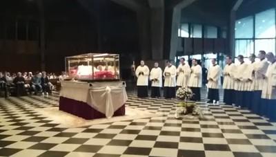 Il Rosario in Seminario vescovile