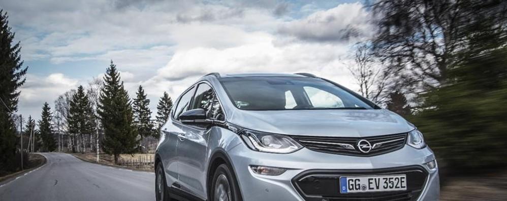 Opel Ampera elettrica L'autonomia sale a 520 km