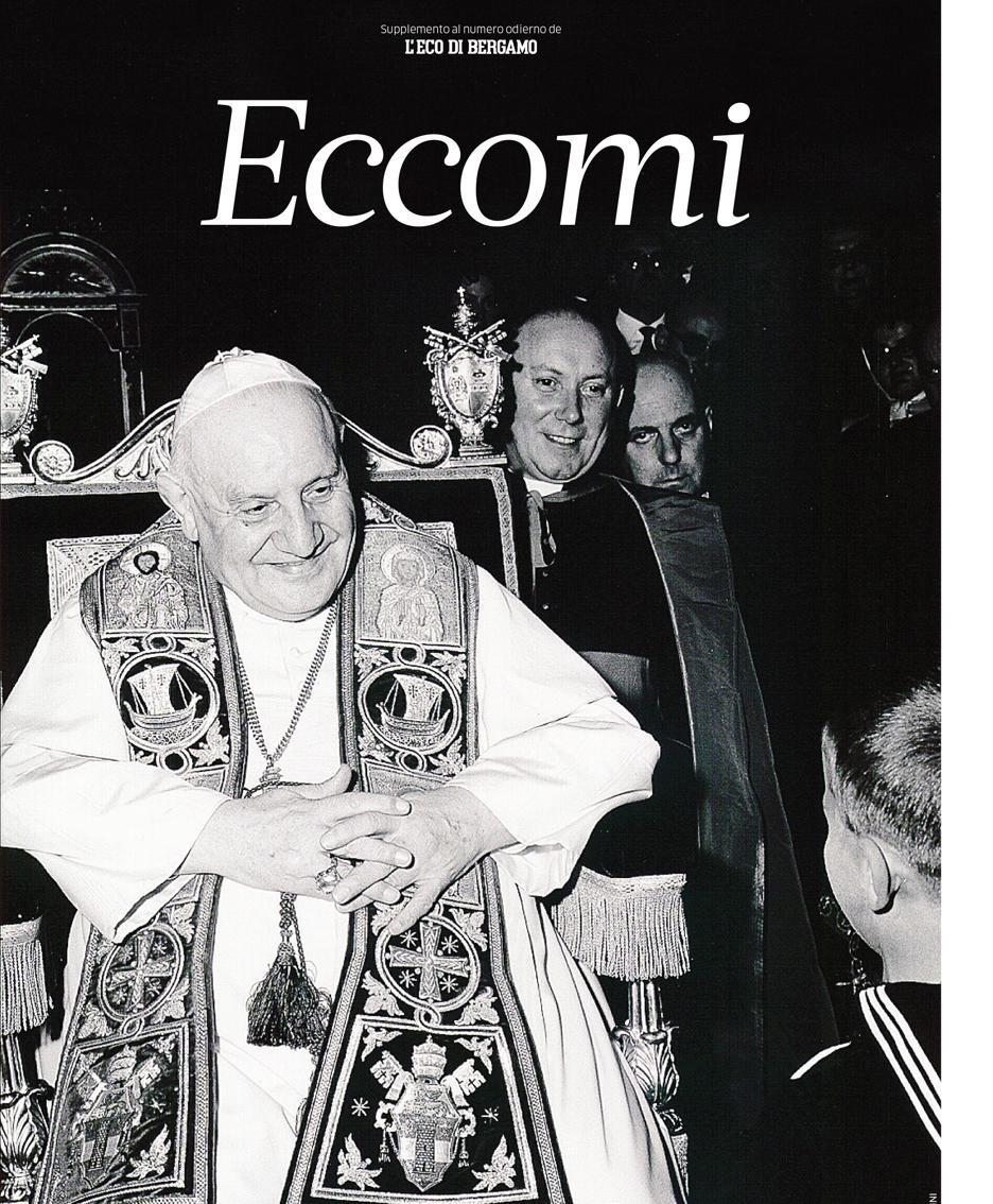 La copertina dell'inserto dedicato a Papa Giovanni XXIII in edicola il 23 maggio