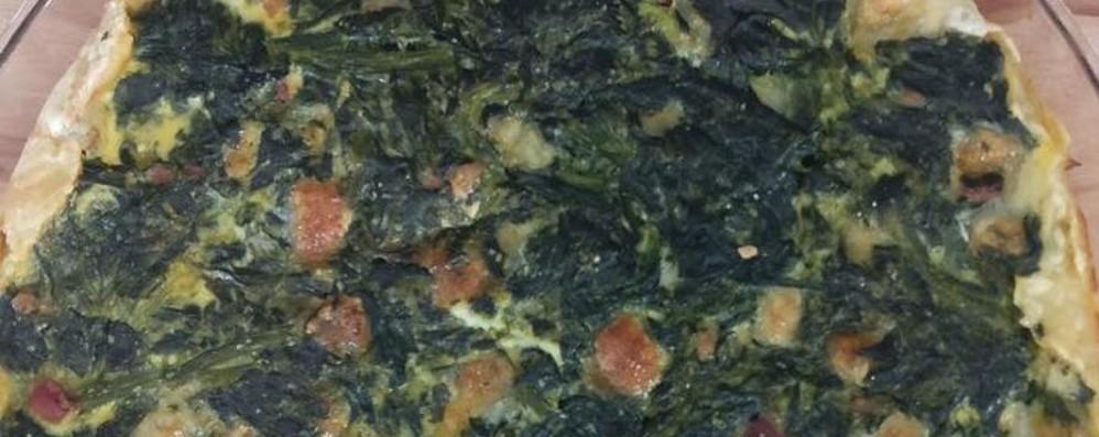 Torta salata con gli spinaci