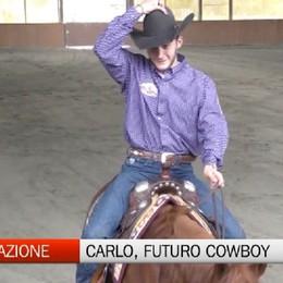 La storia di Carlo Ambrosini, il giovane cowboy
