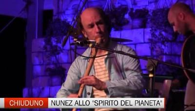 Chiuduno, Carlos Nunez apre Lo spirito del pianeta