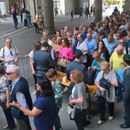 Papa Giovanni, folla in Cattedrale- Foto In migliaia a «salutare» il Papa buono