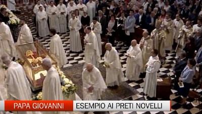 Preti nel segno di Papa Giovanni: l'invito alla fraternità nel segno del Concilio